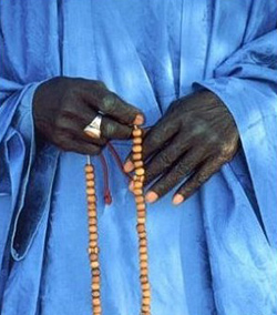 Hands & Beads - Lenny Foster