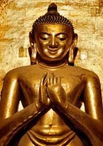 Smiling Buddha - Ananda temple