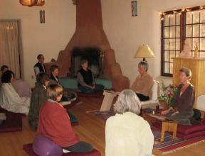 San G Meditation Hall Peopled.JPG